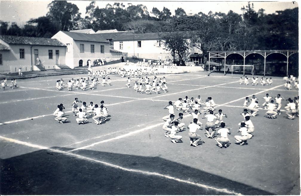 Aula de Educação Física -1941