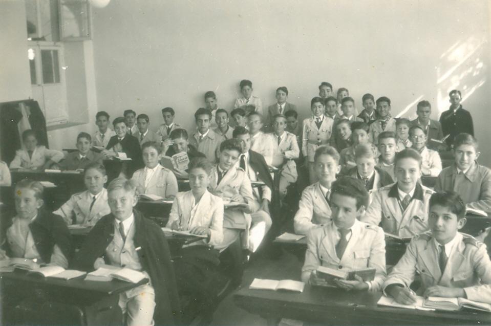 Década de 40 - sala de aula