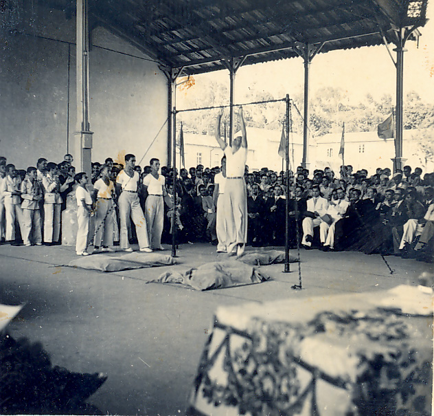 Demonstração de Ginástica - 1937