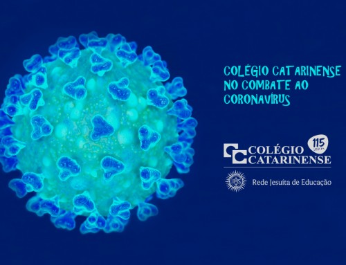 Colégio Catarinense no combate ao coronavírus