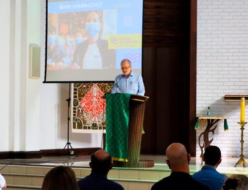 Catarinense abre oficialmente o 116º ano letivo com acolhida aos professores