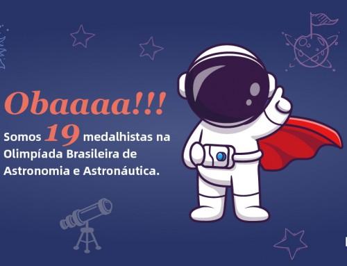 Estudantes do Catarinense são medalhistas na Olimpíada Brasileira de Astronomia e Astronáutica 2021